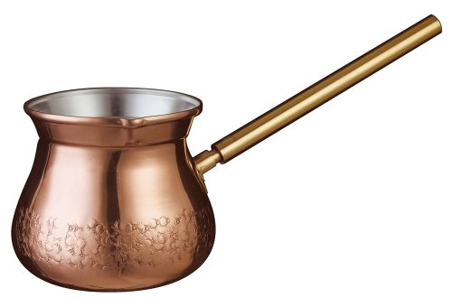 Details about Kalita Turkish Coffee Pot Copper Ibrik for 2 cups 300mL #  52186 Made in Japan