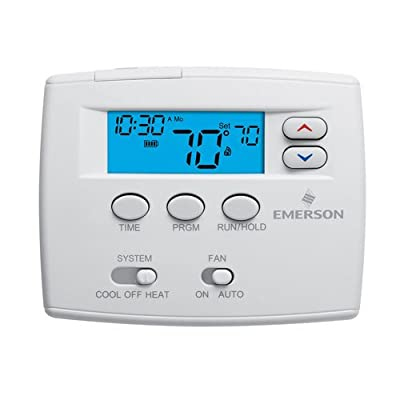 White-Rodgers 1F80-0261 5 Day Programmable Digital Thermostat,