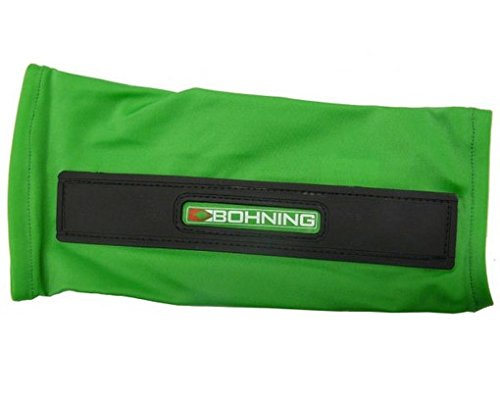 Bohning Archery Slip-On Armguard Medium, Neon Green