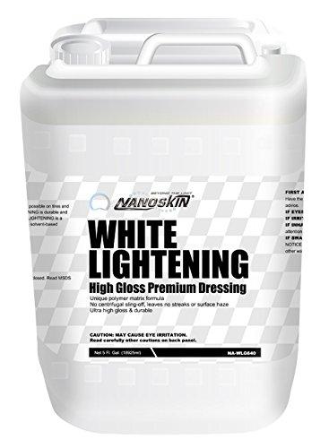 White Lightening High Gloss Premium Dressing - 5 Gallon ()