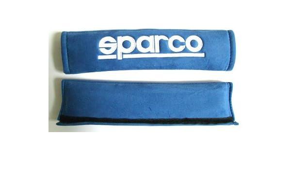 Sparco - Arnés para cinturón de seguridad Alcantara de espuma ...