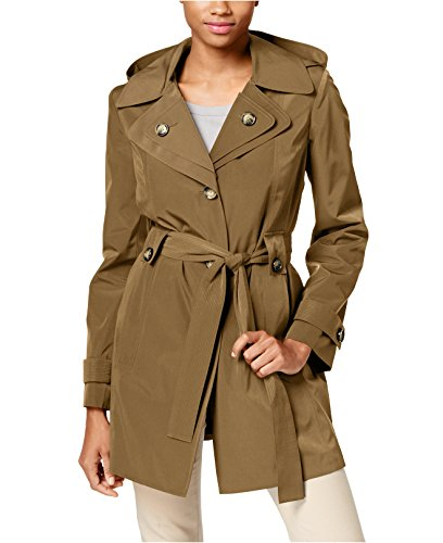 Brown Belted Trench - 6