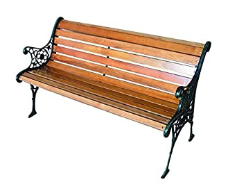 Cool Blinky 9694030 Garden Bench Cast Iron Wood Machost Co Dining Chair Design Ideas Machostcouk