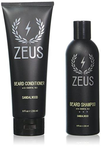 ZEUS Beard Shampoo Conditioner Sandalwood product image