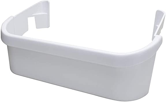 240323001 /& 240356401 Refrigerator Door Bin /& 240351601 Freezer Door Bin Side Shelf Replacement for Frigidaire FFHS2611PF9 240356401 /& 240351601 White Door Bin Compatible 240323001