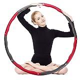 Best Hula Hoops For Adults - OPLIY Hula Hoop,Weighted Exercise Hula Hoop-2.5 lb Review