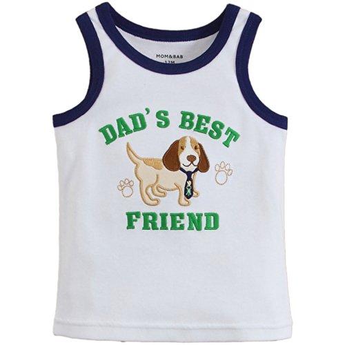 VERANY Baby Boys' Dog Style Singlet - Singlet Styles