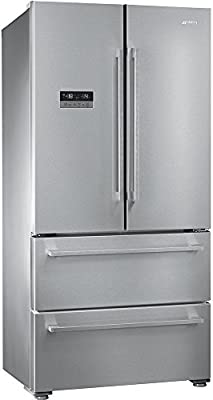 Smeg FQ55FXE Independiente 550L A+ Acero inoxidable nevera puerta ...