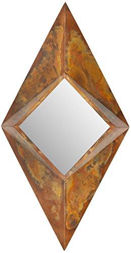 Safavieh Home Collection Diamond Mirror, Copper