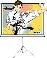 三脚式スクリーン自立式投影用