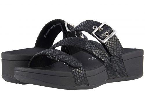 VIONIC(バイオニック) レディース 女性用 シューズ 靴 サンダル Rio - Black Snake [並行輸入品]