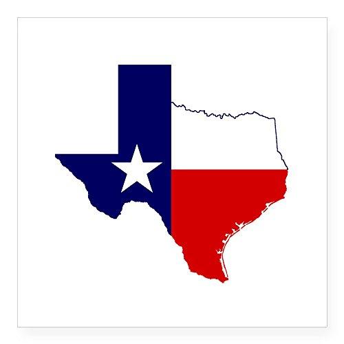 CafePress Great Texas Square Sticker 3