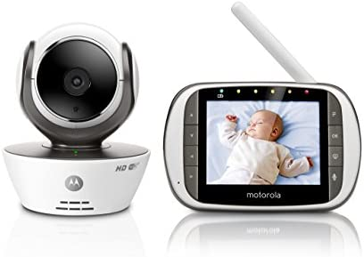 Motorola Mbp853connect Video Baby Monitor With 3 5 Handheld Parent Unit And Wi Fi Hubble Connected App For Smartphones Tablets Amazon Co Uk Baby