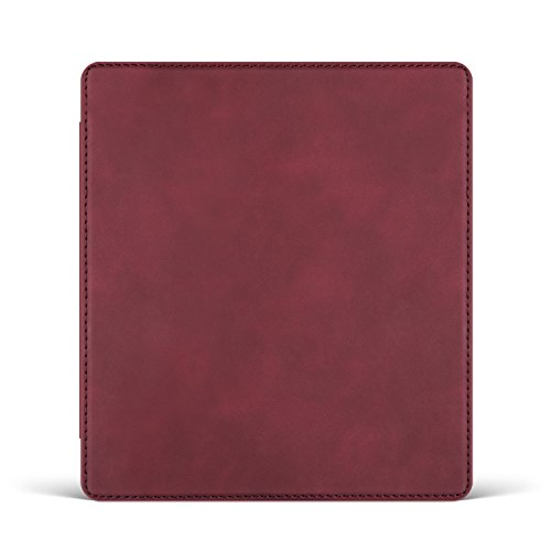 - Ayotu Skin Touch Feeling Case for Kindle Oasis(9th Gen, Released only in 2017) Honeycomb Version PU case with Auto Wake/Sleep,New Waterproof 7''Kindle Oasis Case,Soft Shell series KO-10 The Red Wine