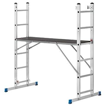 Pro Bau Tec pro bau tec aluminium arbeitsgerüst und leiterkombination 10030