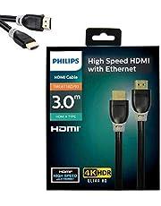 Philips SWL6116d-93 4K 3mt Altın Uçlu Hdmı Kablo