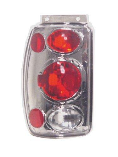 Pair 03-00-CWT-CE510CS IPCW CWT-CE510CS Crystal Eyes Platinum Smoke Clear Eyes Tail Lamp
