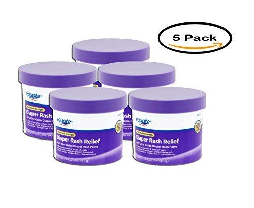 Equate Maximum Strength Diaper Rash Relief, 16 oz, 5pk by Equate