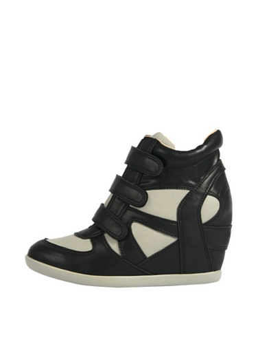Mustang Sneaker Zeppa Nero/Grigio EU 40