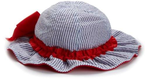 73e5a001 Mud Pie Boathouse Baby Seersucker Sun Hat with Ruffle and Bow, Blue/Red, 0  12 Months (B003A7JMRW) | Amazon price tracker / tracking, Amazon price  history ...