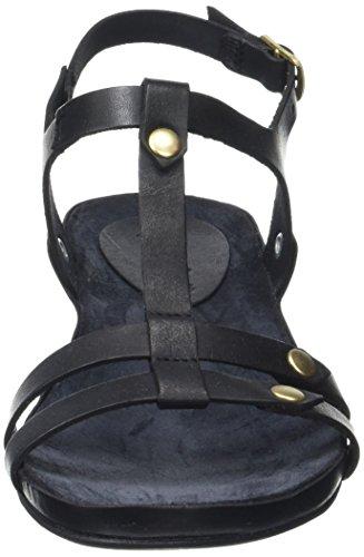Punta Negro Noir Kickers con 8 Sandalias Mujer Takit para Abierta OO0tavn4