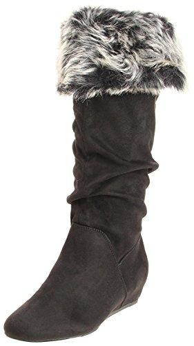 Report Women's Enfield Boot,Black,9 M US - Report Faux Fur Boot
