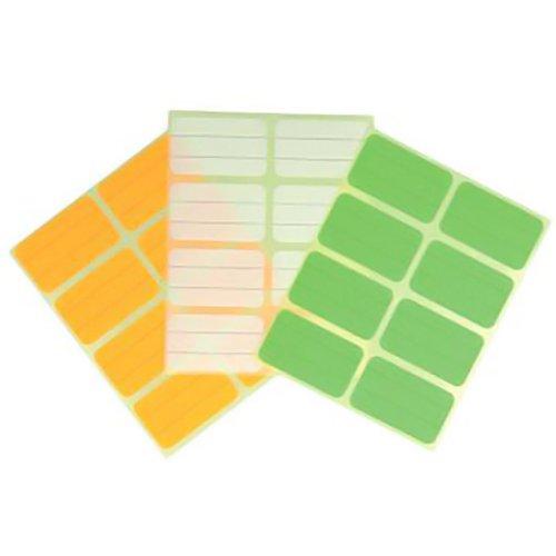 Metaltex 295630 Freezer labels (96 Piece), Multicolored
