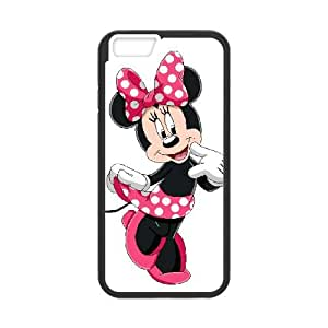 iPhone 6 4.7 Inch Cell Phone Case Black Disney Mickey Mouse Minnie Mouse Nxdf
