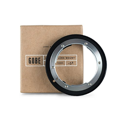 Gobe Lens Adapter: Compatible with Nikon F-Mount Lens and Canon EOS (EF/EF-S) Camera Body by Gobe