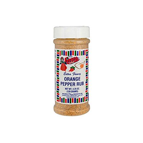 (Bolner's Fiesta Extra Fancy Orange Pepper Rub 4.25oz)