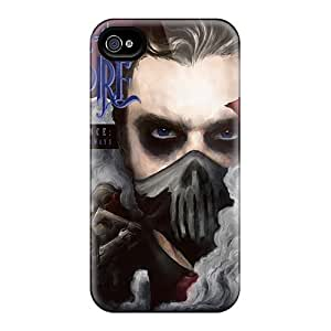 Great Hard Phone Cover For Iphone 4/4s (HOL19058FOHI) Customized Beautiful Rise Against Series