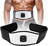 Waist Fat Burning Belt, Vibration Slimming Belt Micro Frequency Vibration with 6 Adjustable Level Intensity Ma