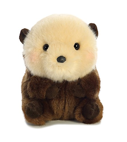 Aurora World Rolly Pet Smiles Sea Otter Plush, 5