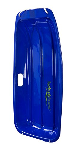 Snow Sled Kids Winter Toboggan Sled, 33-inch, Blue