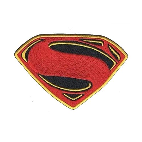 Batman Vs Superman Dawn of Justice Movie Embroidery PATCH Halloween Costume Shirts Hats Jackets Bags Easy Iron On]()