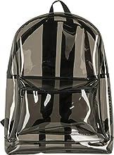 Urban Classics - Mochila transparente (50 cm, 1,6 L), color negro transparente