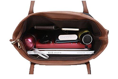 tela Tessuto a di VogueZone009 Donna cerniere Viaggio Borse Borse Moda tracolla tqwvOaP