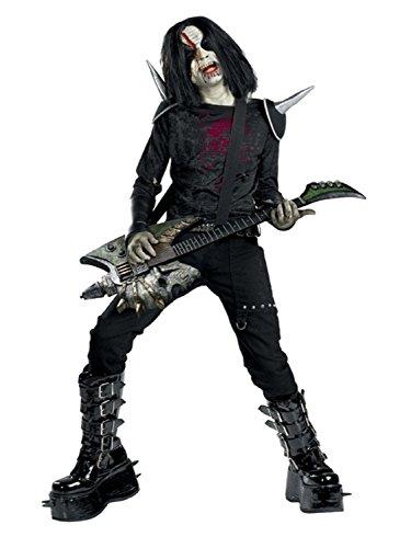 Disguise Boys Metal Mayhem Rotten Rocker Zombie Costume - Metal Mayhem Rotten Rocker Zombie Teen Costume Child Size 10-12]()