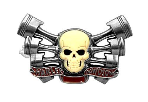 Harley Davidson Edgy Pvc Skull Pin