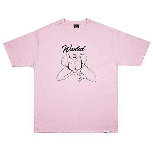 Camiseta Wanted - Explicit Rosa Cor:Rosa;Tamanho:G