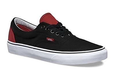 Vans Unisex Era (Pop) Chillie Pepper/Black Skate Shoe 10.5 Men US / 12 Women US