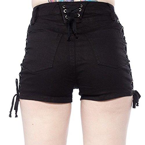 Short Pantalon Fille Jean Collant Printemps Lisli En Et Sport Plage Casual Hot Pant Femme Noir Mini Court dxFwvXUq