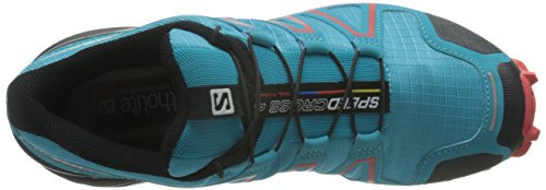 Trail Bleu 4 Chaussures Blue Black Femme Salomon de Jay Infrared Speedcross x1BIw4qR
