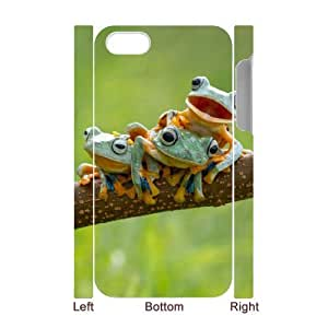 GTROCG Cute Frog Phone 3D Case For Iphone 4/4s [Pattern-4]