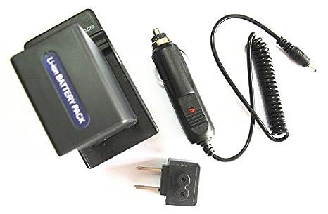 Batería JIOOYEE + cargador para Sony Handycam DCR-DVD610 DCR ...