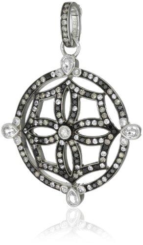 Katie Decker Mosaic Maltese Cross Pendant Enhancer