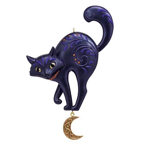 Hallmark Halloween Ornament 2019 Bewitching Black Cat