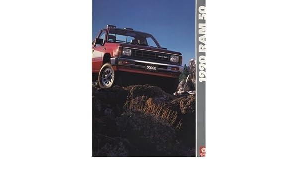 1990 Dodge Ram 50 Truck Mitsubishi Original Sales Brochure Catalog
