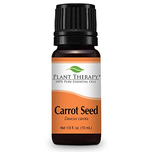 Carrot Seed - Plant Therapy Carrot Seed Essential Oil. 100% Pure, Undiluted, Therapeutic Grade. 10 ml (1/3 oz).