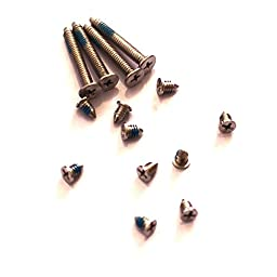 Generic New Bottom Replacement Screws Set 14 Pcs for MacBook Pro A1150 A1211 A1260 A1226 A1229 Series
